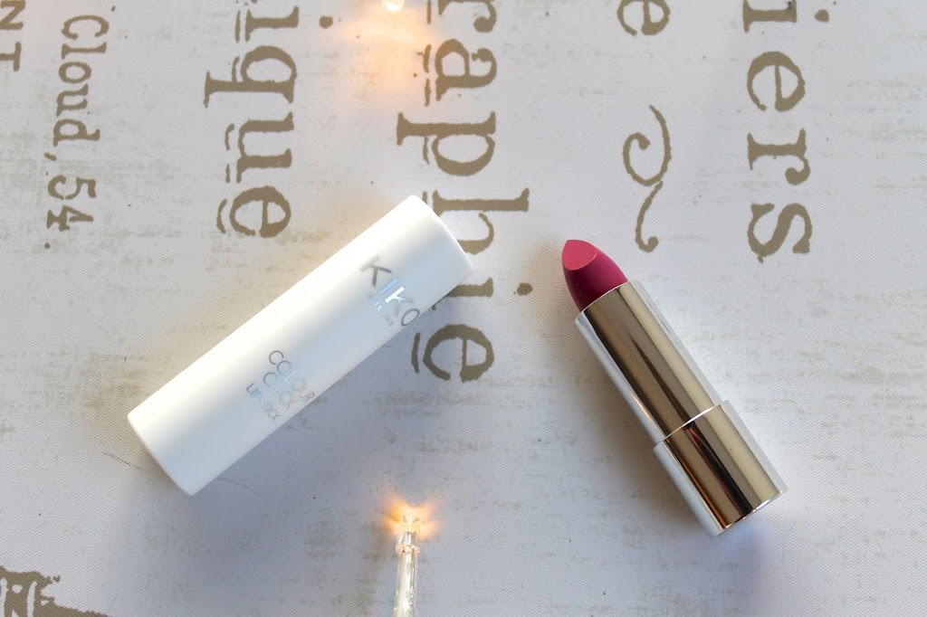 Kiko Milano colour click lipstick blog