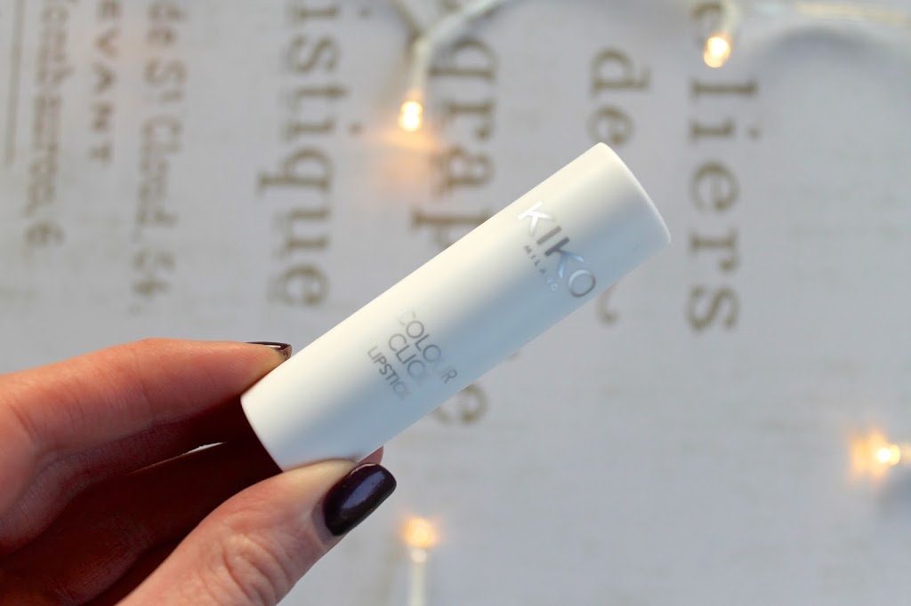 Kiko Milano colour click lipstick review