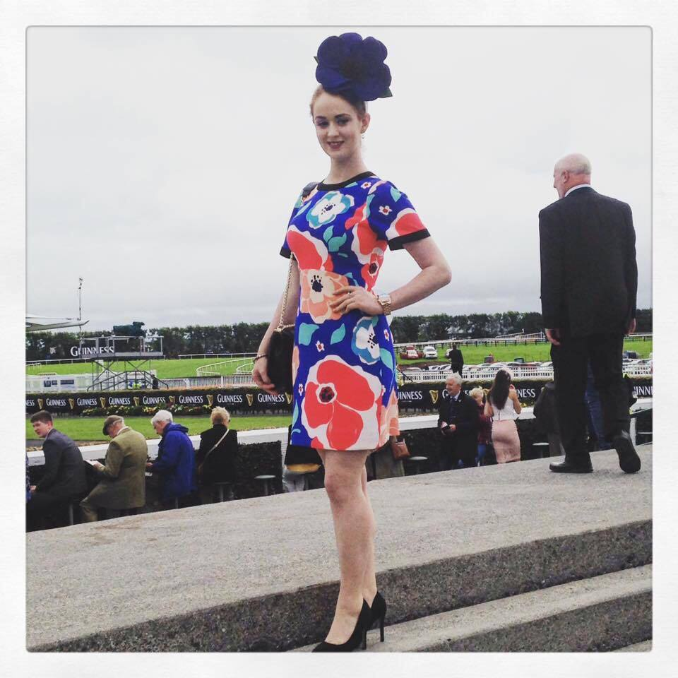 Stephanie Casserly model galway races