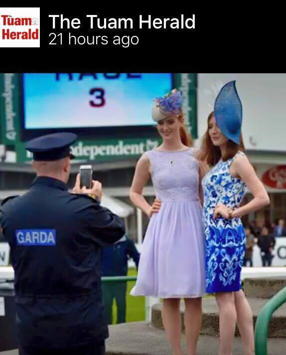 Casserly sisters Galway Races Tuesday 2016