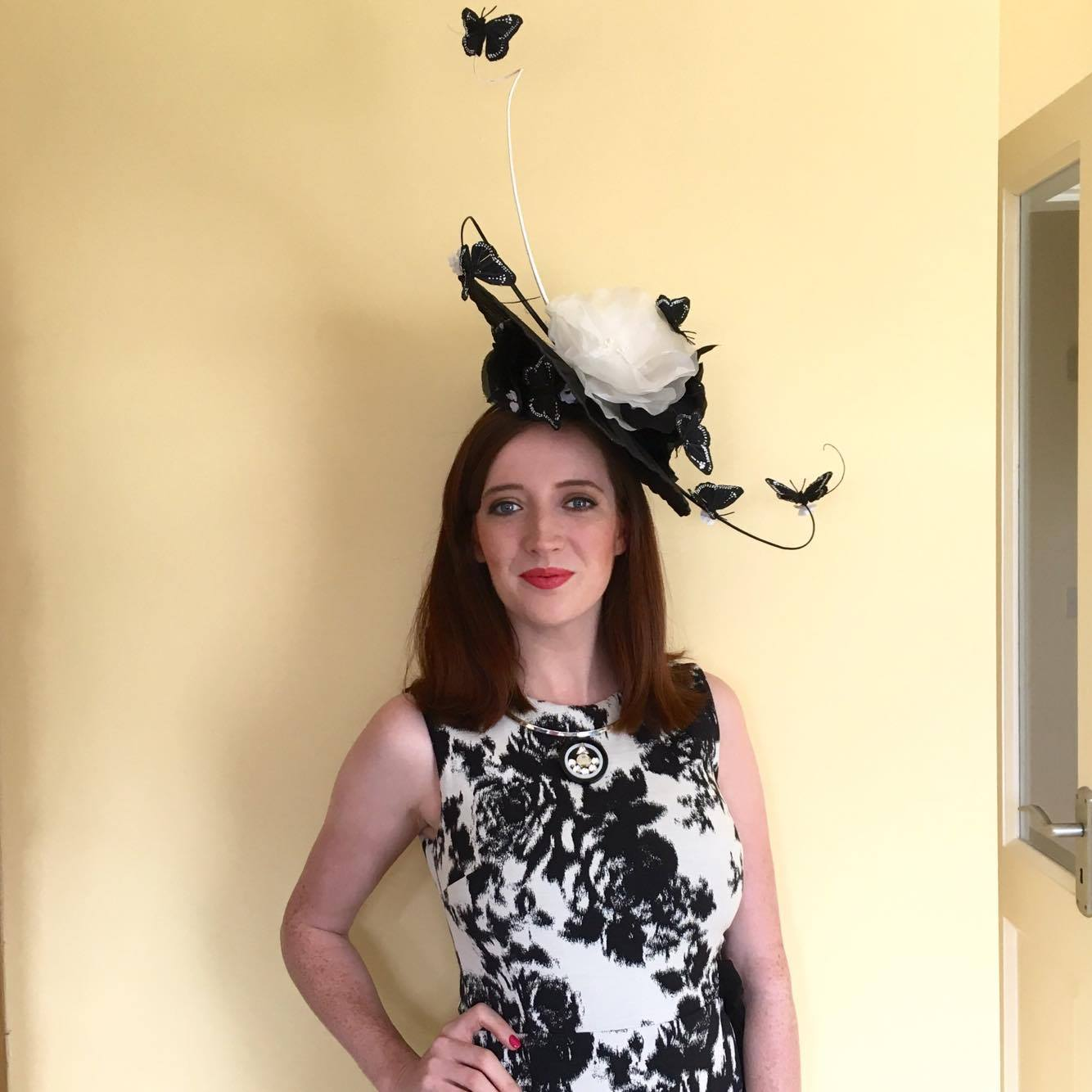 BecBoop Galway Races Mark Garvie Millinery