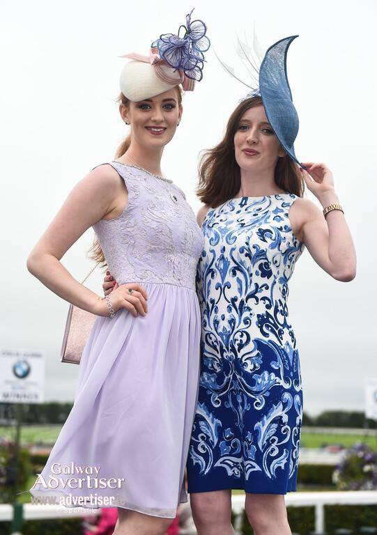 Casserly sisters fashion galway races 2016