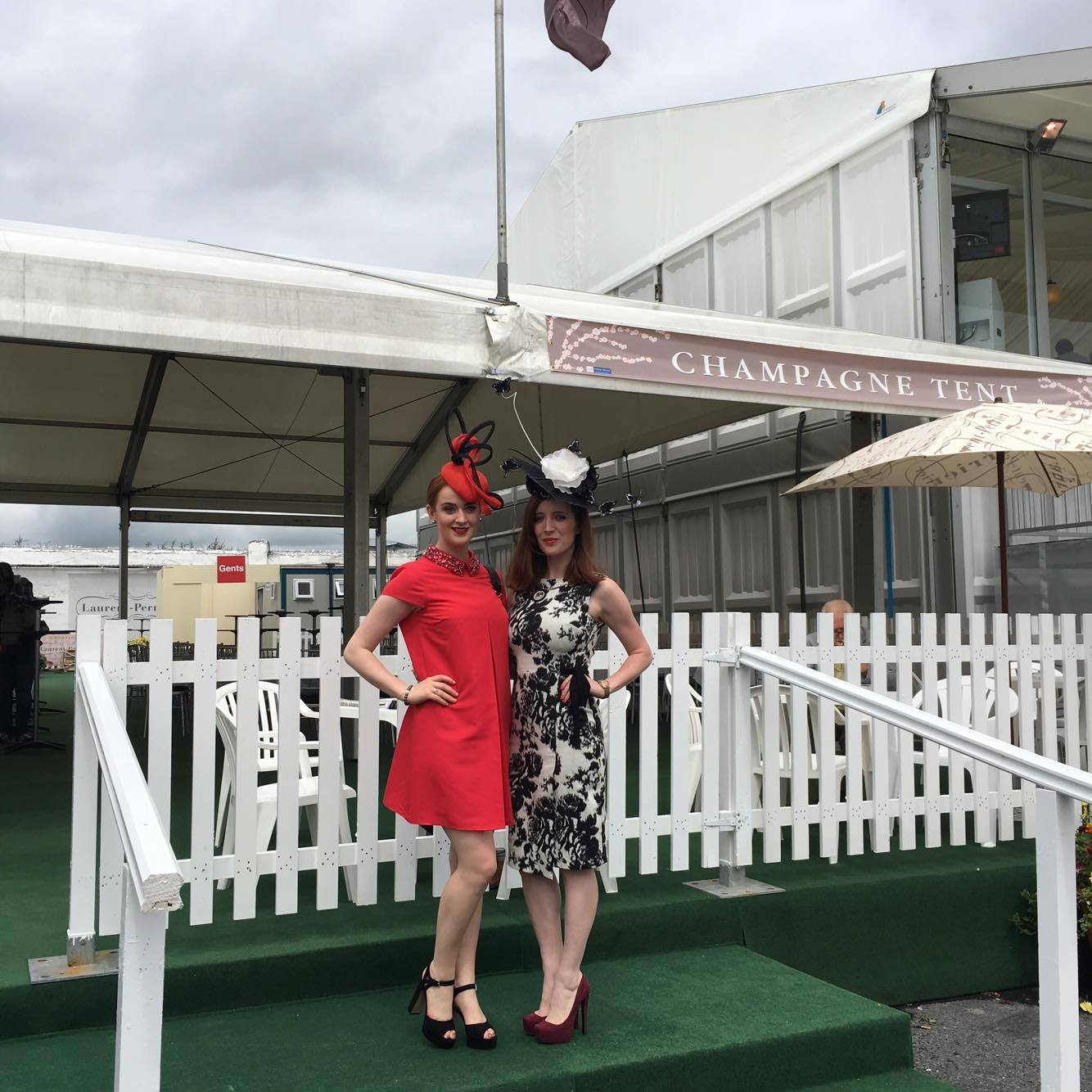 Casserly sisters Galway Races Wednesday 2016