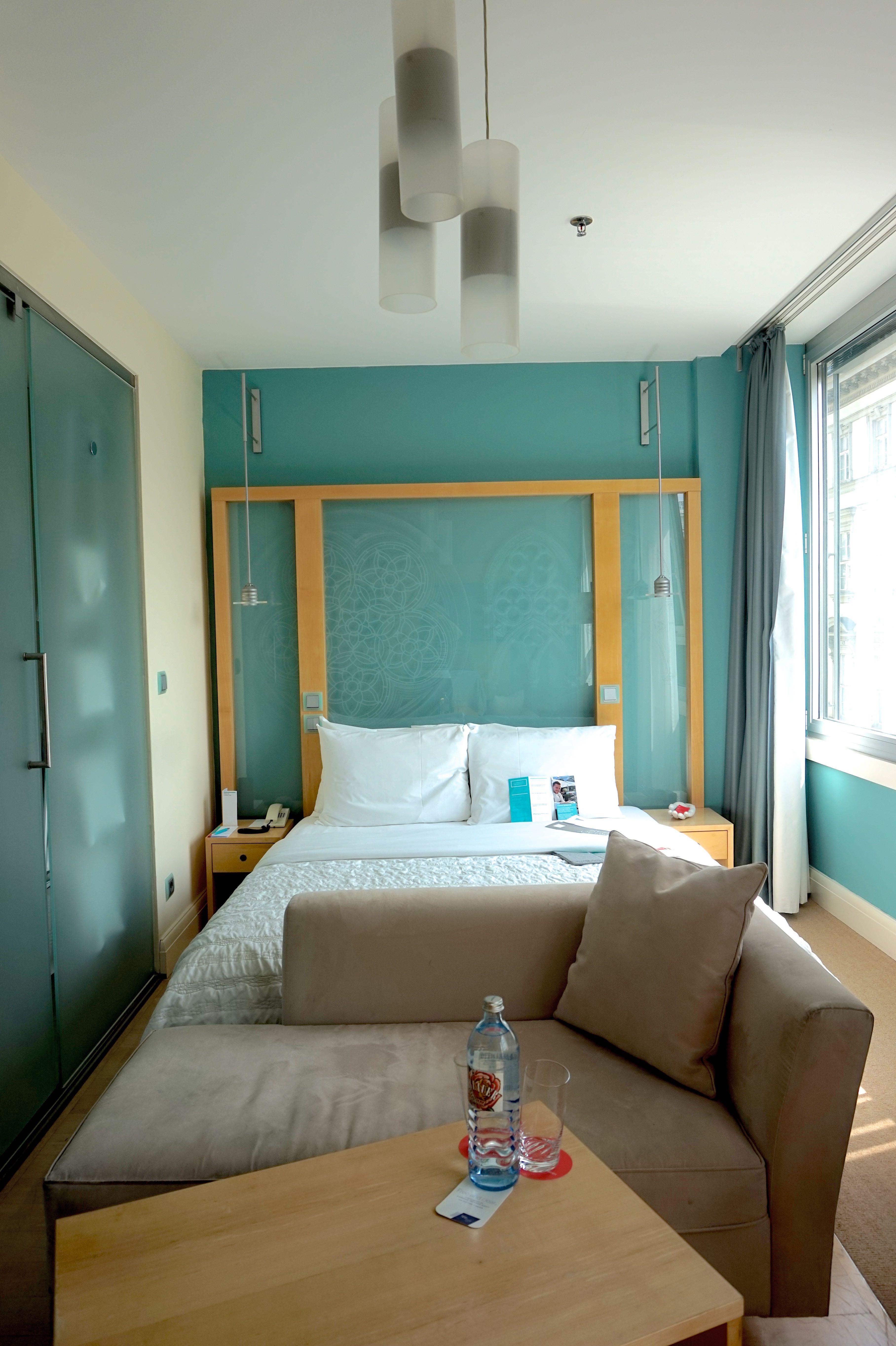 Le Meridien hotel vienna bedroom