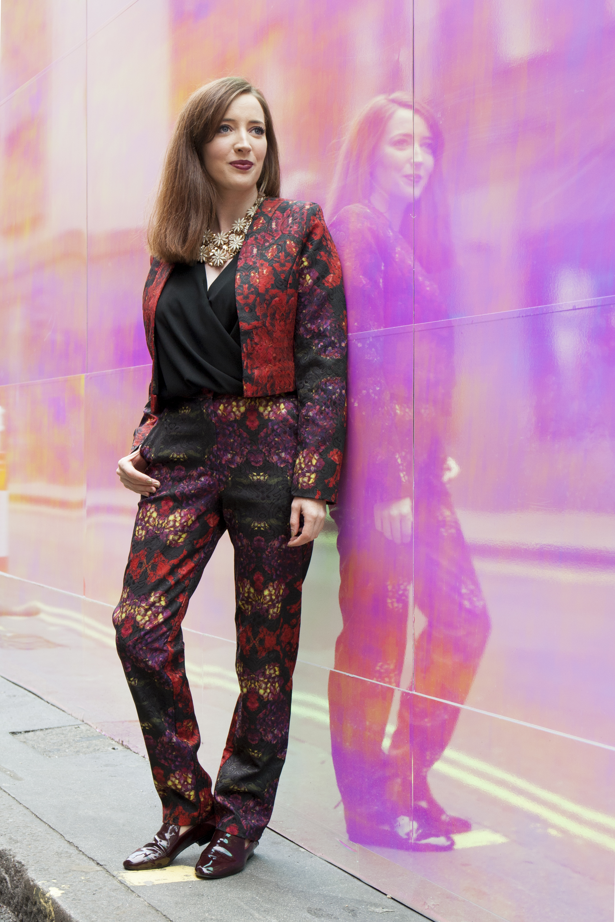 BecBoop London Fashion Week outfit