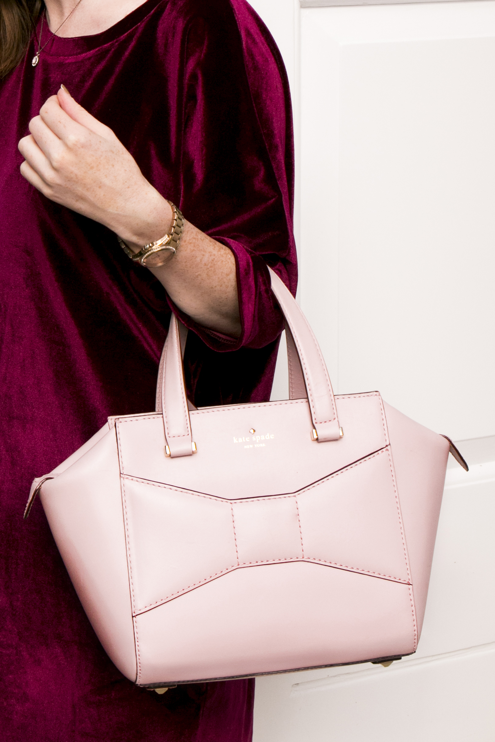 Kate Spade bag pink BecBoop blog