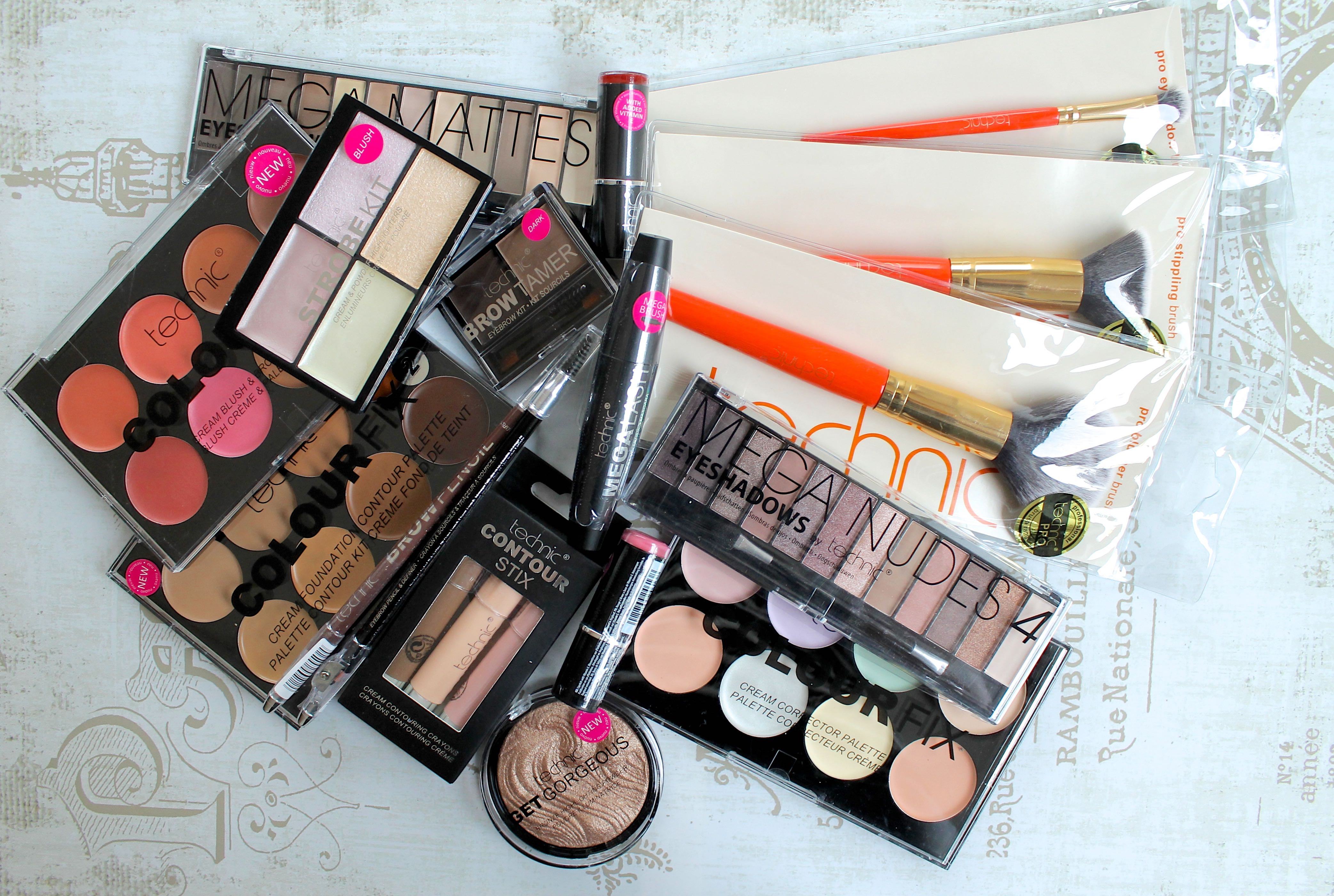 beauty blog giveaway technic cosmetics