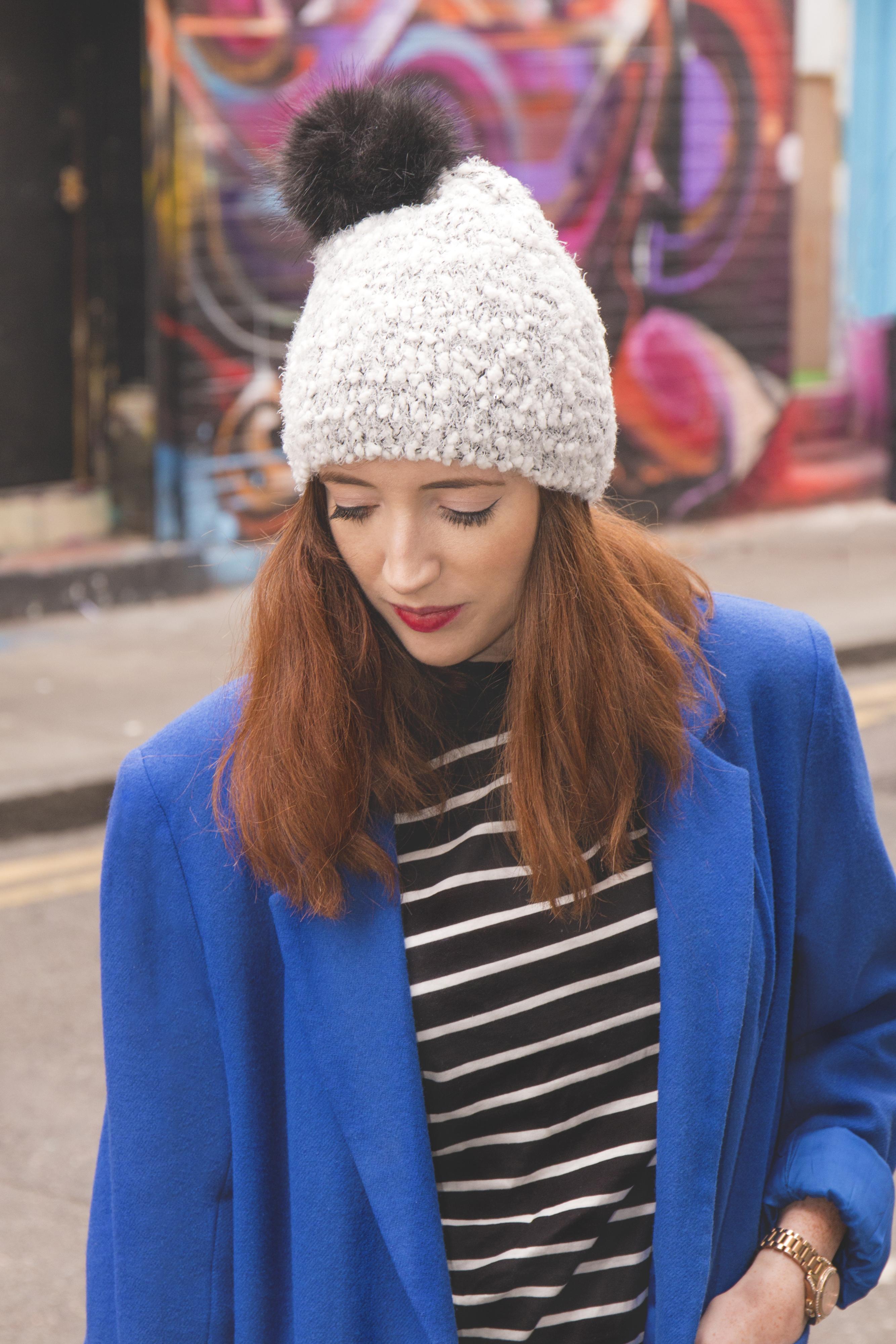 beanie winter style blog