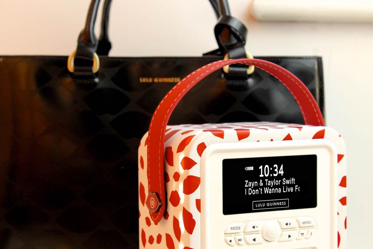LULU GUINNESS PRINT RETRO MINI RADIO COMPETITION