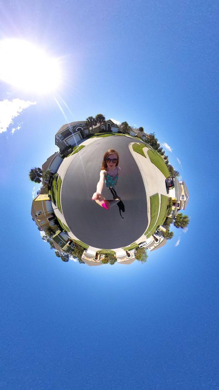 Florida travel 360 little planet