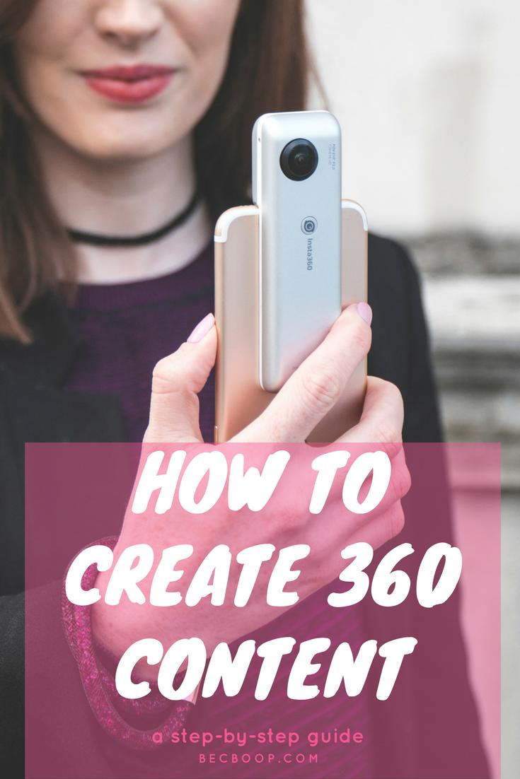 CREATE 360 content pinterest
