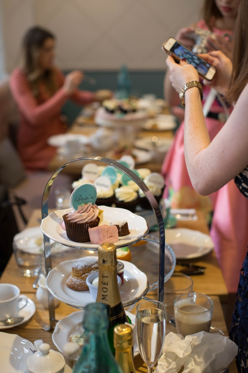 Boohoo afternoon tea bea's London