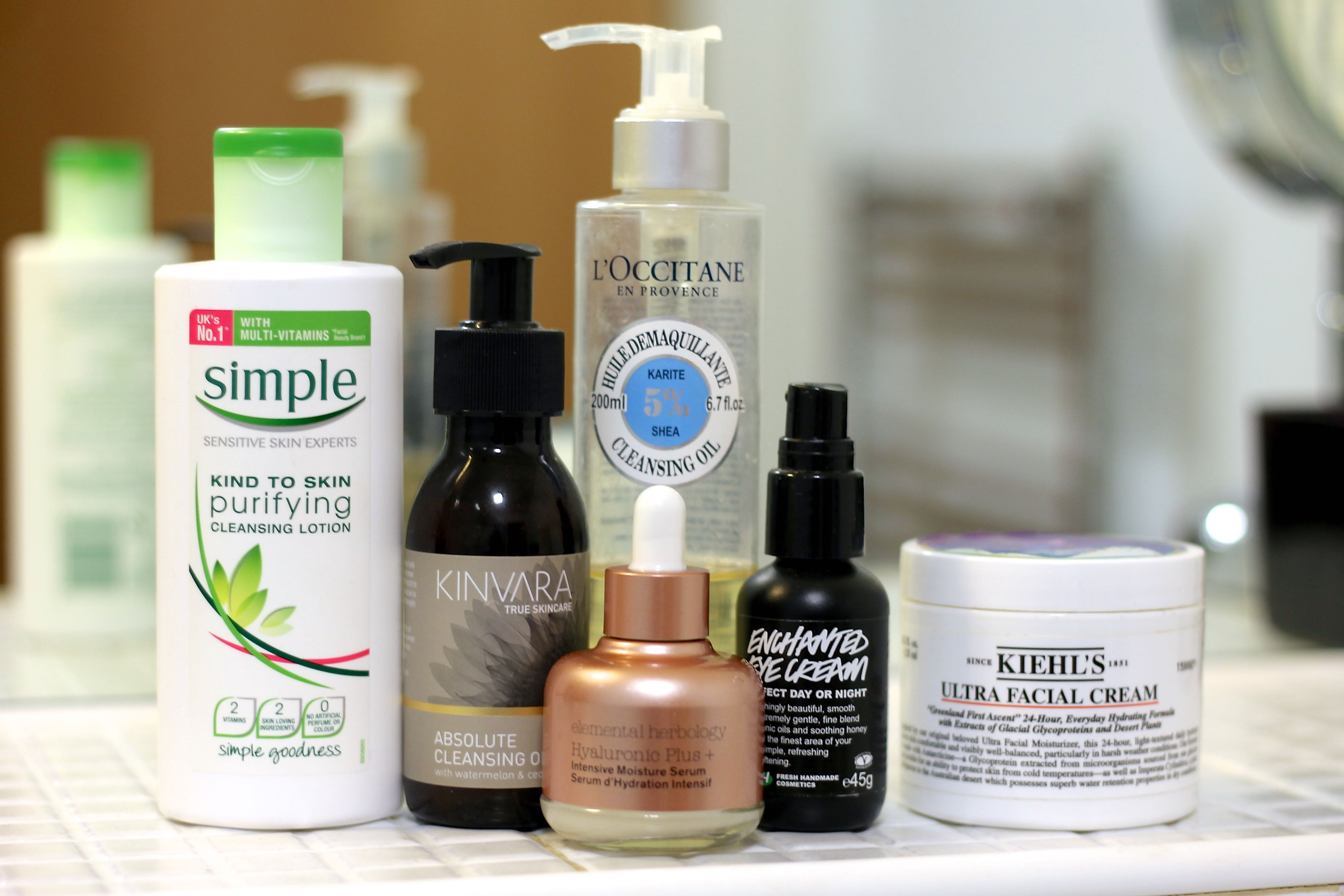 Quick evening Summer skincare routine becboop