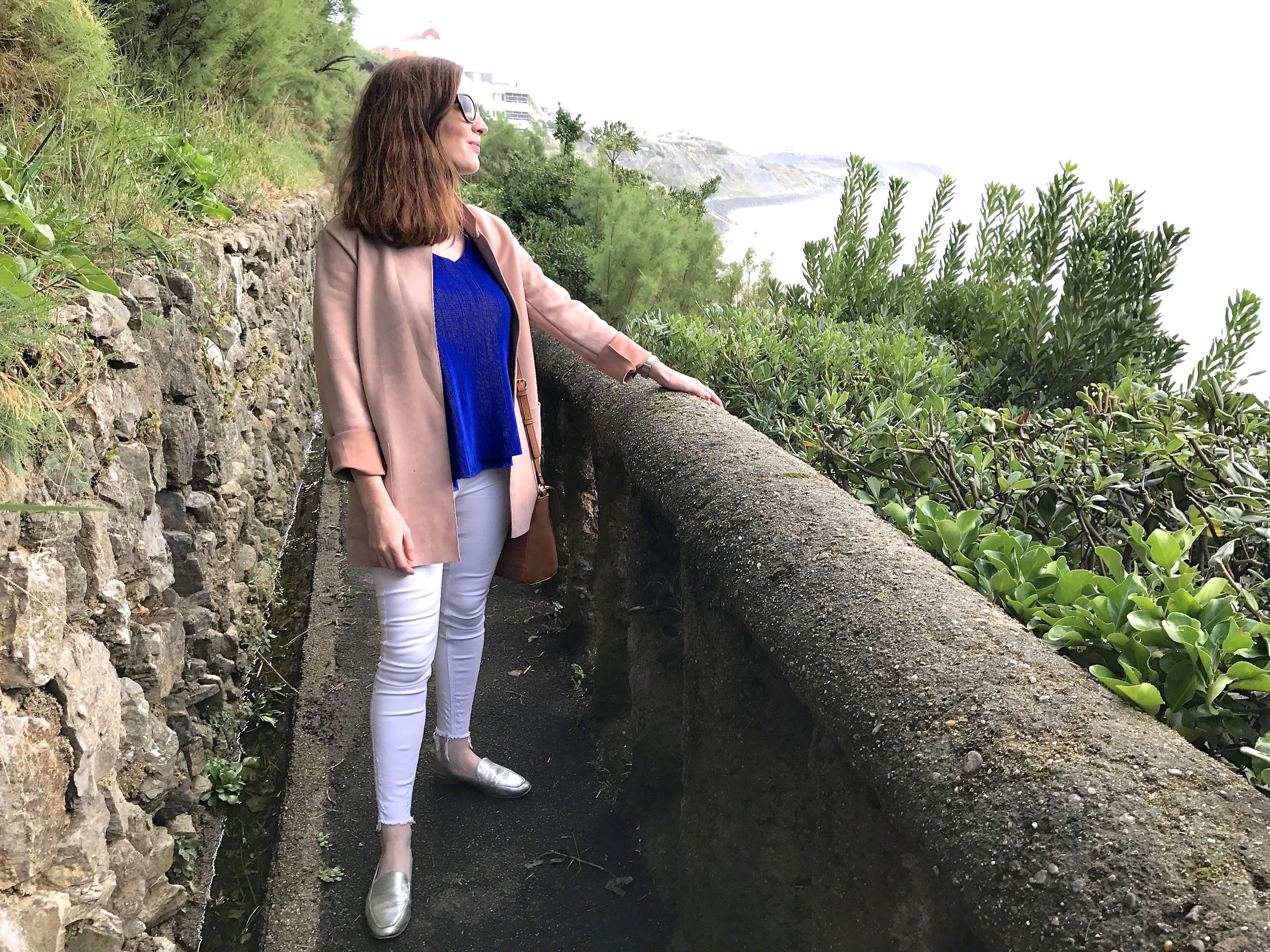 wore in Biarritz BecBoop