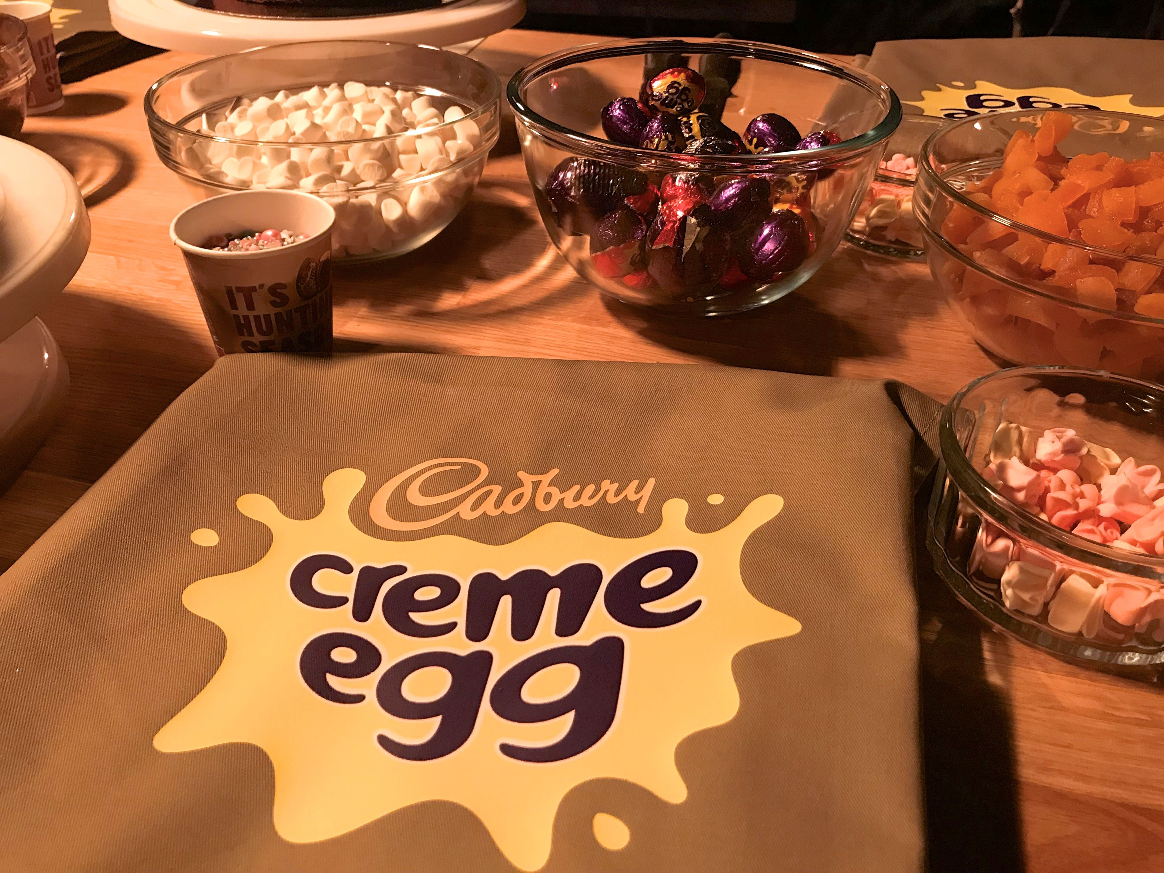 Creme egg camp BecBoop